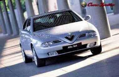 L'Alfa 166 V6