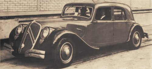 Citroën Traction Avant 22