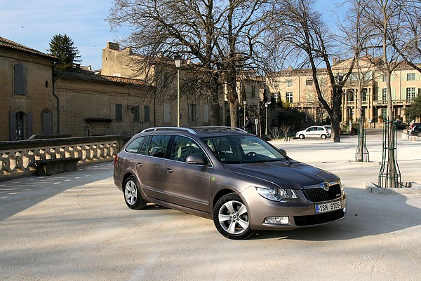 Skoda Superb Greenline Combi