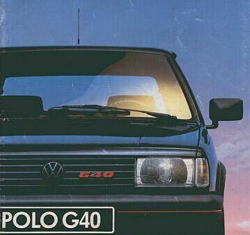 Volswagen Polo G40