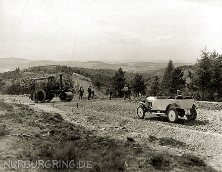 Construction du Nürburgring