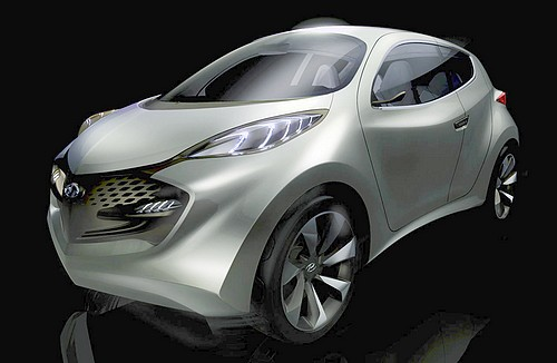 2009 Hyundai Ix Metro Concept. Hyundai ix-Metro Concept