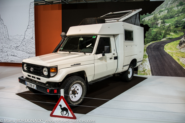 Mondial 2018 : l'unique Toyota Land Cruiser du salon