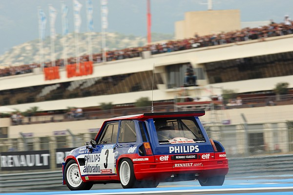 World Series by Renault, Jean Ragnotti en Renault Maxi 5 Turbo